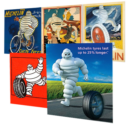 Michelin Man Evolution