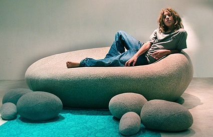 Zen Pebble Sofa