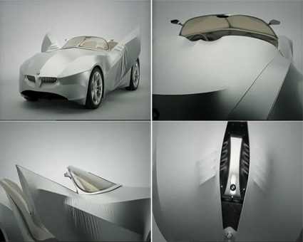 BMW GINA Light Visionary Concept Model ~ BMW Cars & Bikes